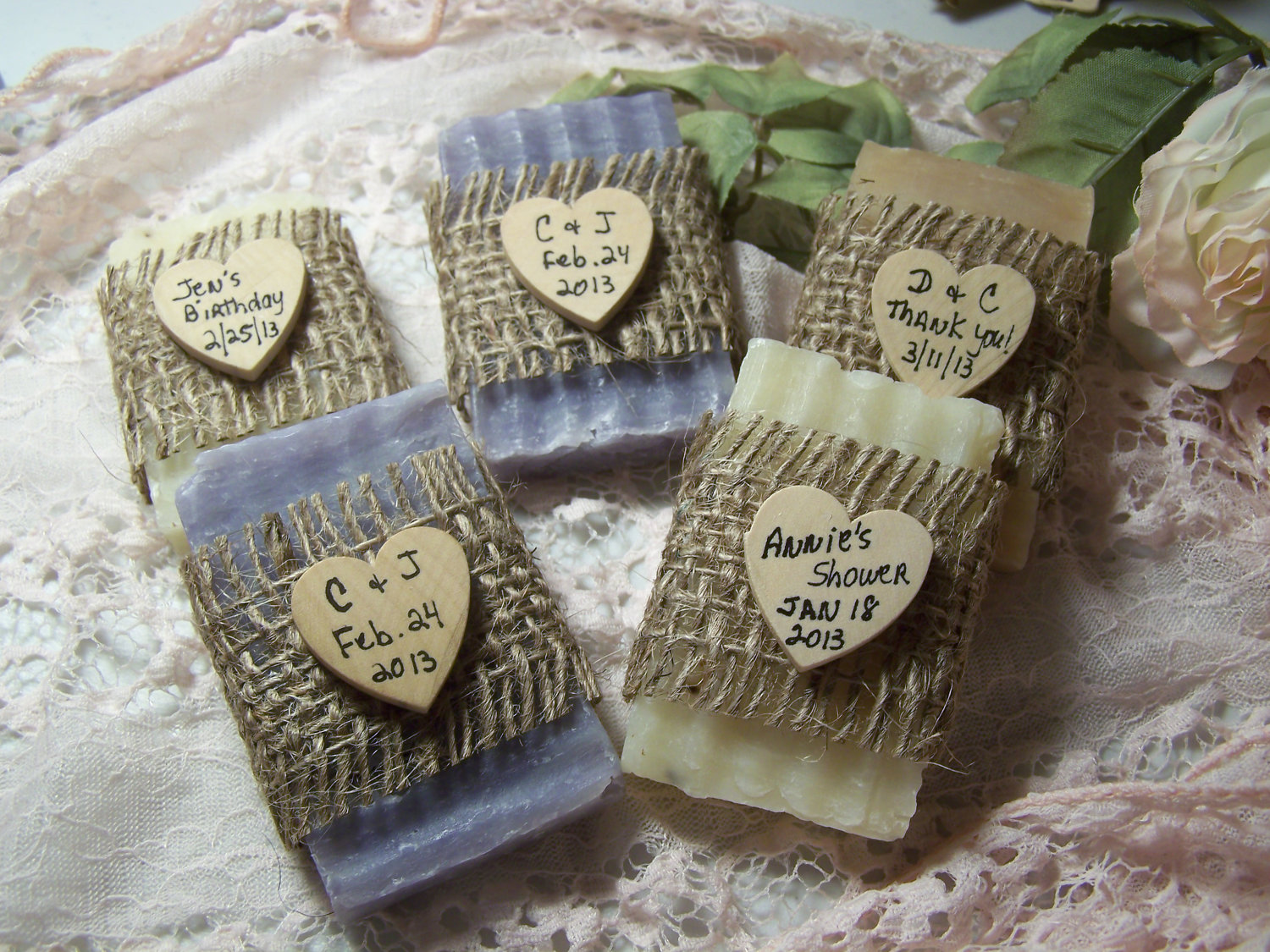 bridal_shower_favors_soaps_mini_soaps_organic_by_countrychicsoaps_rustic_country_wedding_favors_