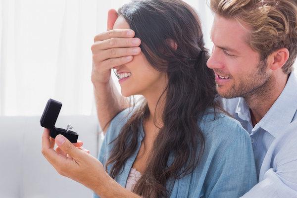 Inspirações românticas para pedido de casamento