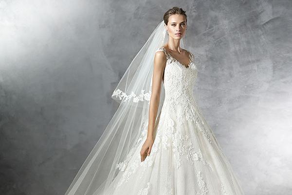 Vestido de noiva | Coleção Pronovias