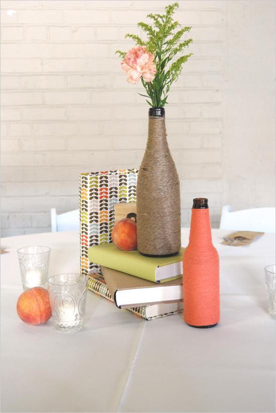 diy-centro-de-mesa-garrafas-personalizadas 3