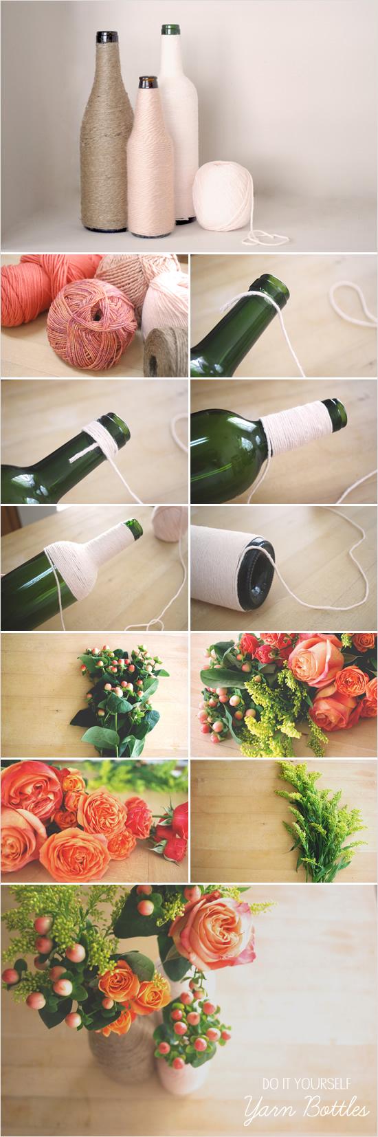 diy-centro-de-mesa-garrafas-personalizadas 6
