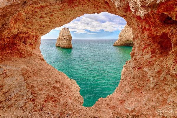 Lua de mel em Algarve, Portugal
