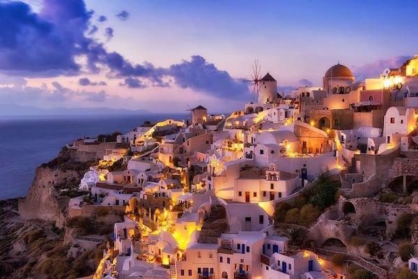 Lua de Mel em Santorini – Grécia