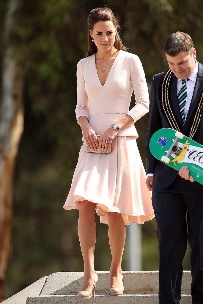 Kate-Middleton-Pink-Skirt-Suit