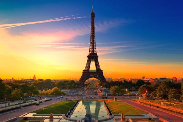 Lua de mel em Paris, França