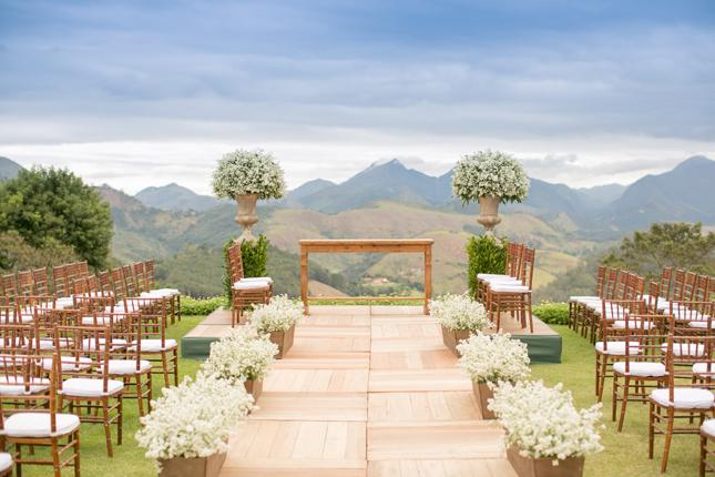 Decoraç u00e3o para casamento ao ar livre Lejour