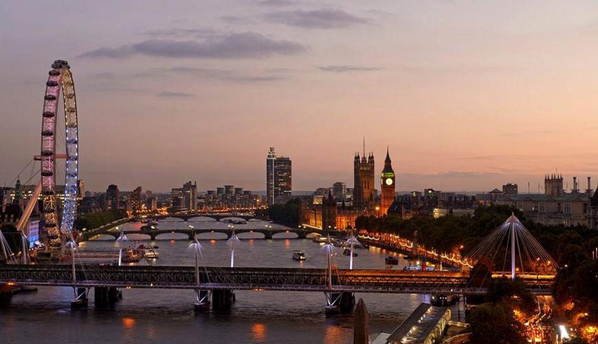 Lua de Mel em Londres, Inglaterra