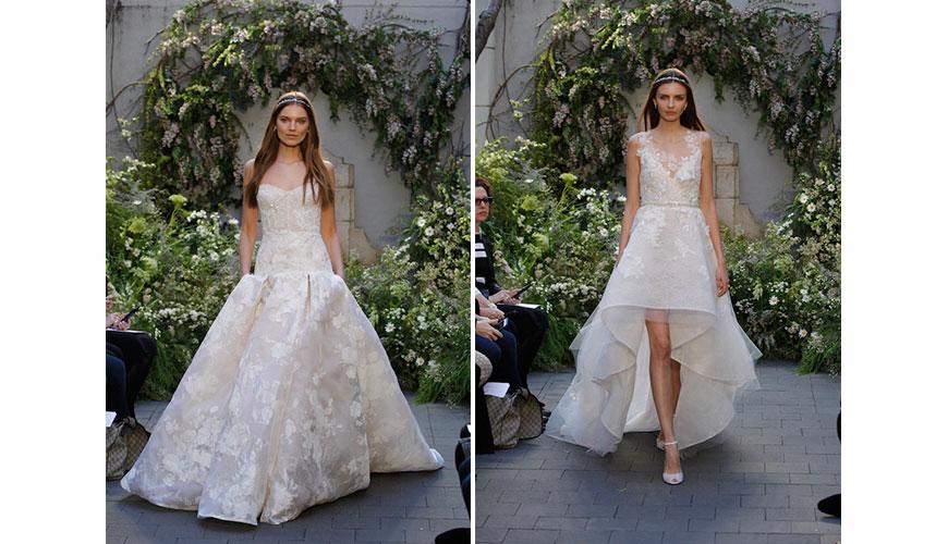 Vestido de Noiva – Coleção Spring 2017 – Monique Lhuillier