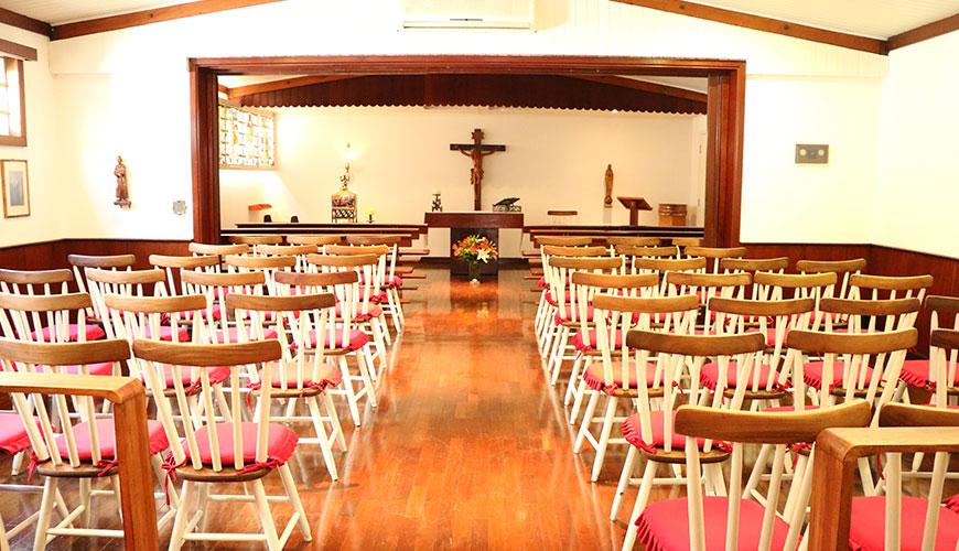 Espaço Kolping tem capela para casamentos em SP