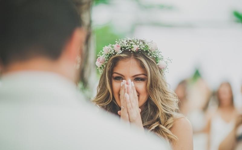 Coroas de flores perfeitas para casamento