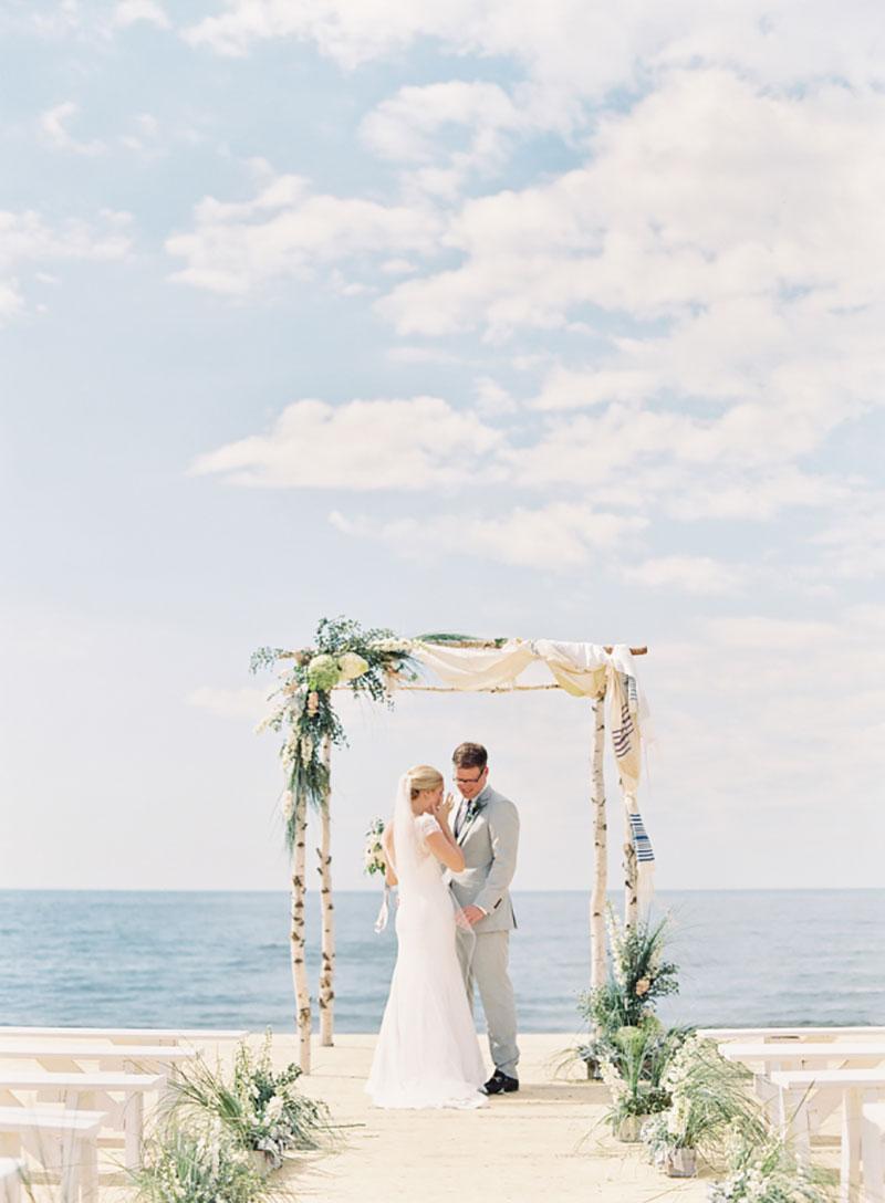 casamento na praia casal