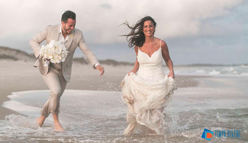 Casamento na praia: pé na areia e pôr do sol em Alagoas