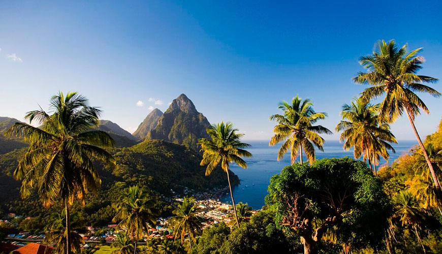 Lua de mel em Santa Lucia, onde tudo é lapidado para o romance