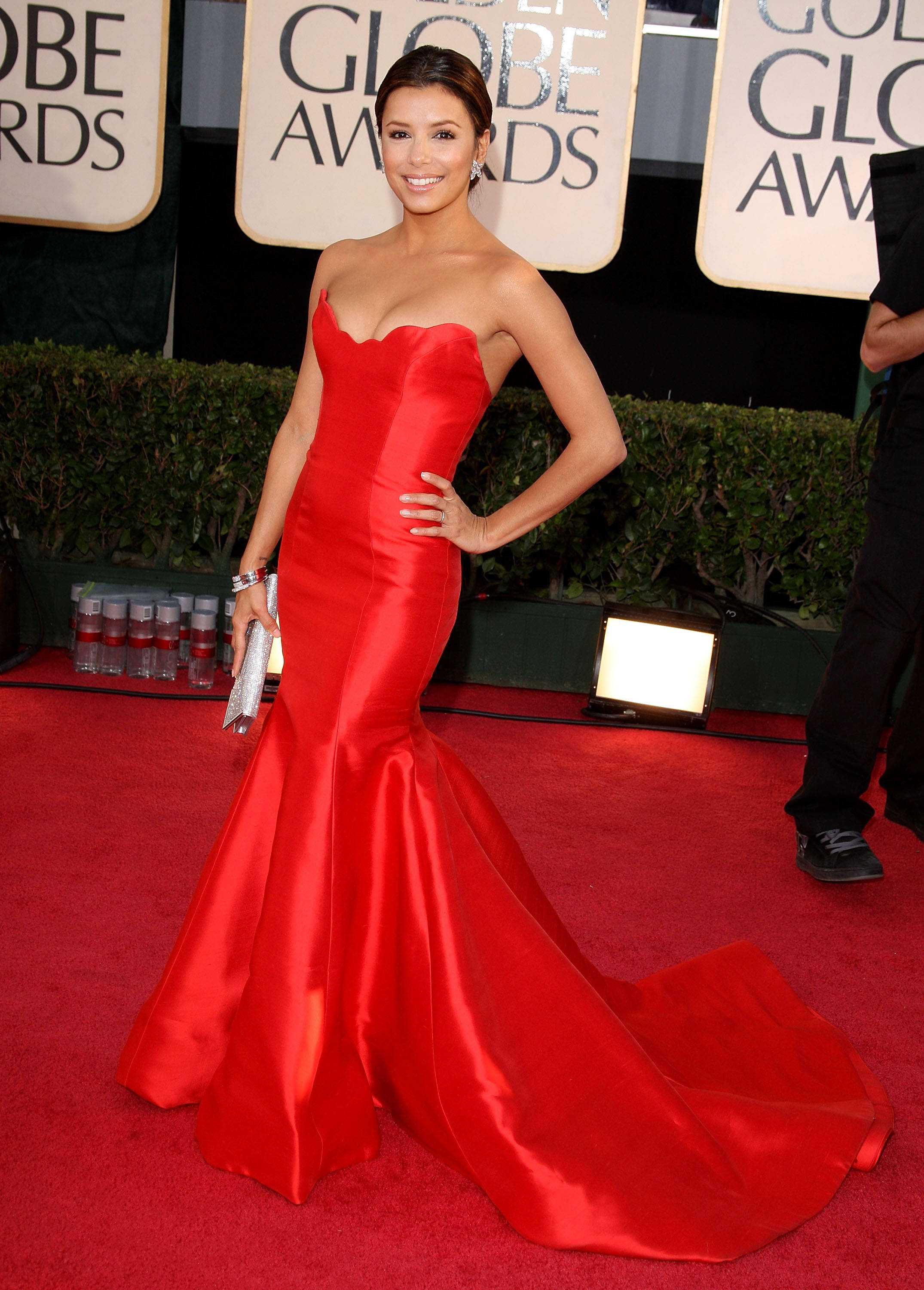 BEVERLY HILTON, CA - JANUARY 11: Actress Eva Longoria Parker arrives at the 66th Annual Golden Globe Awards held at the Beverly Hilton Hotel on January 11, 2009 in Beverly Hills, California. (Photo by Jason Merritt/Getty Images)