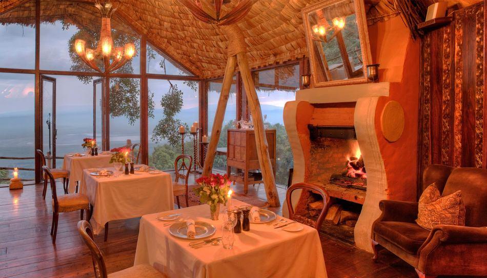 &Beyond Ngorongoro Crater Lodge 1