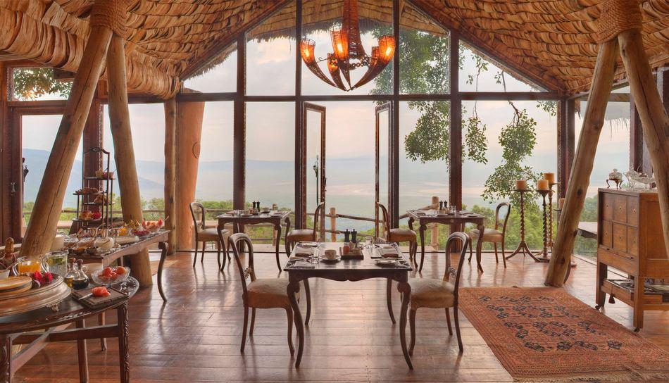 &Beyond Ngorongoro Crater Lodge 2