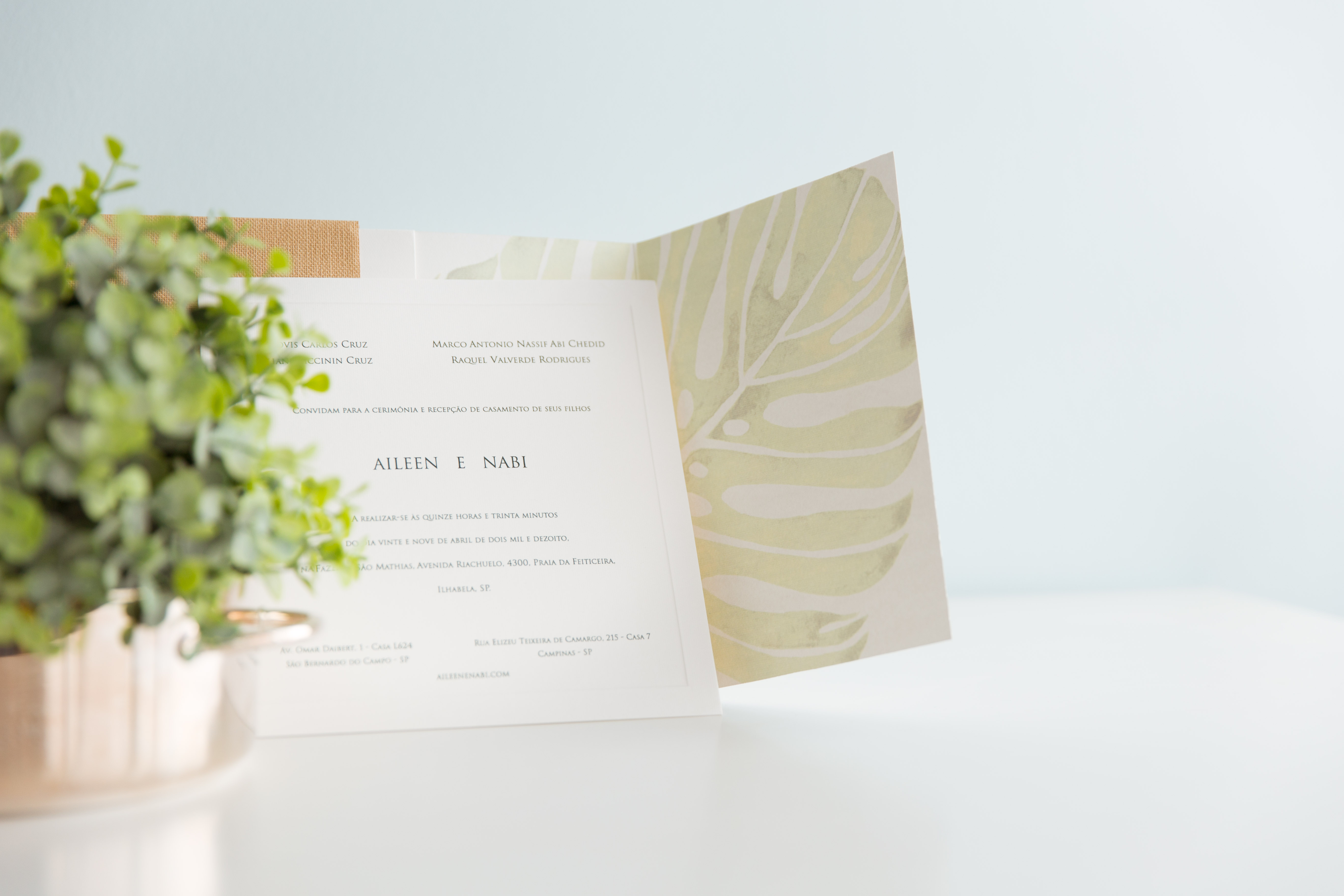 Dicas infalíveis para escolher o convite de casamento