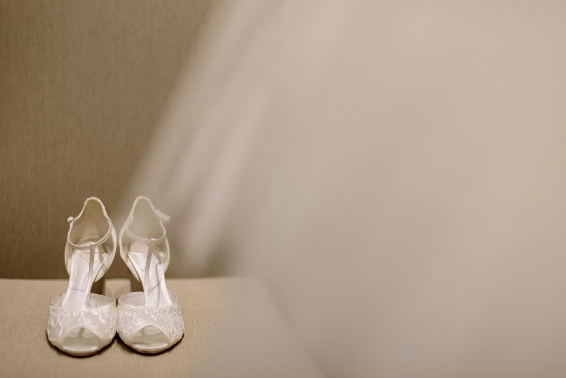 Sapato T-strap para casamento