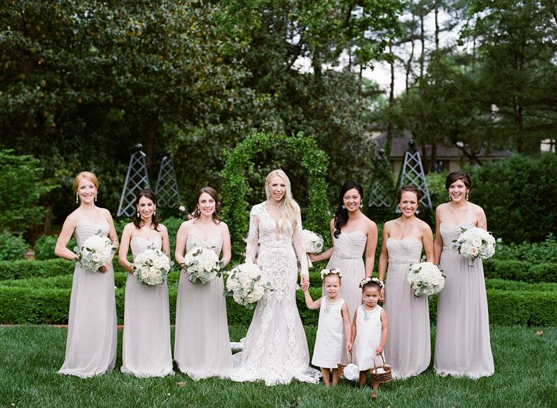 madrinhas de casamento com a noiva