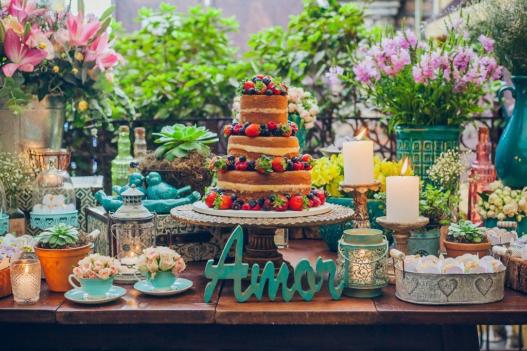 Dicas para quem quer um naked cake no casamento