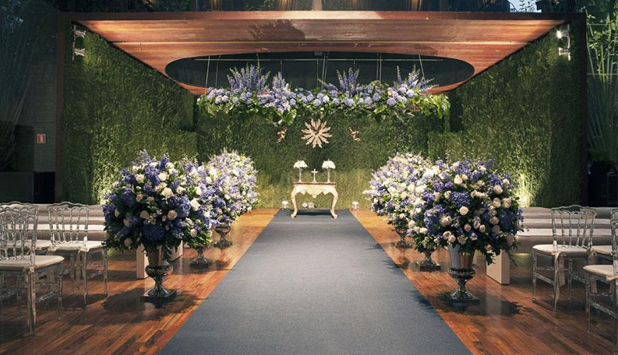 10 ideias para fazer uma linda decoração de casamento com folhagens