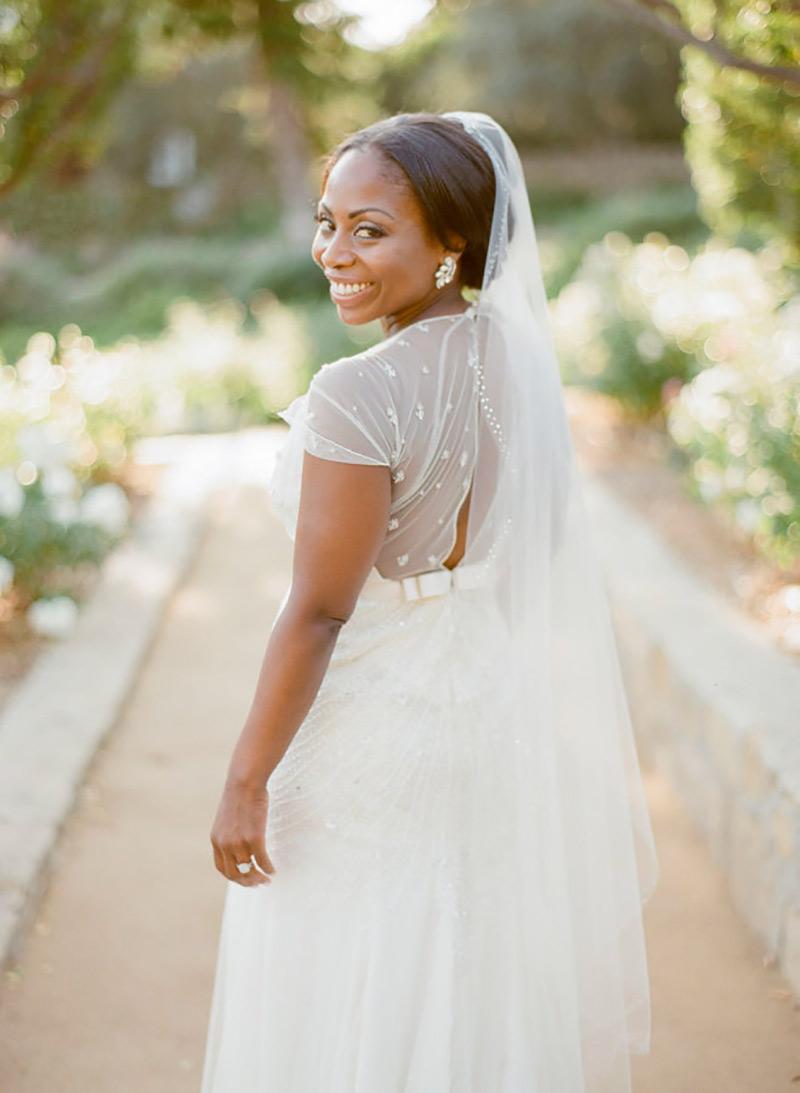noiva negra maquiada para casamento