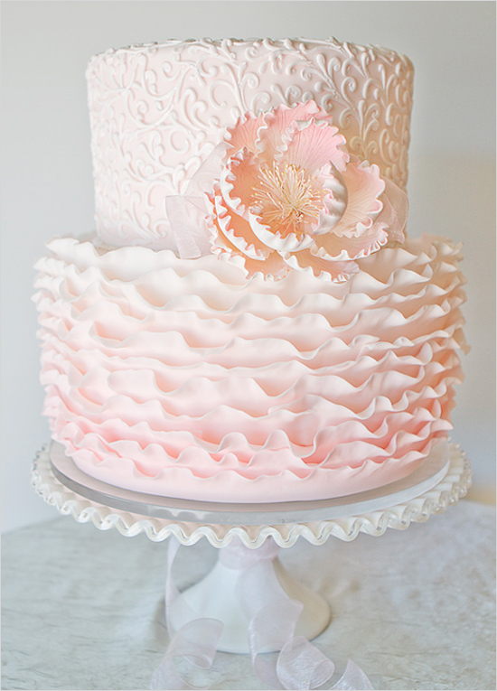 pinkruffledweddingcake-vintage-inspired-girly1