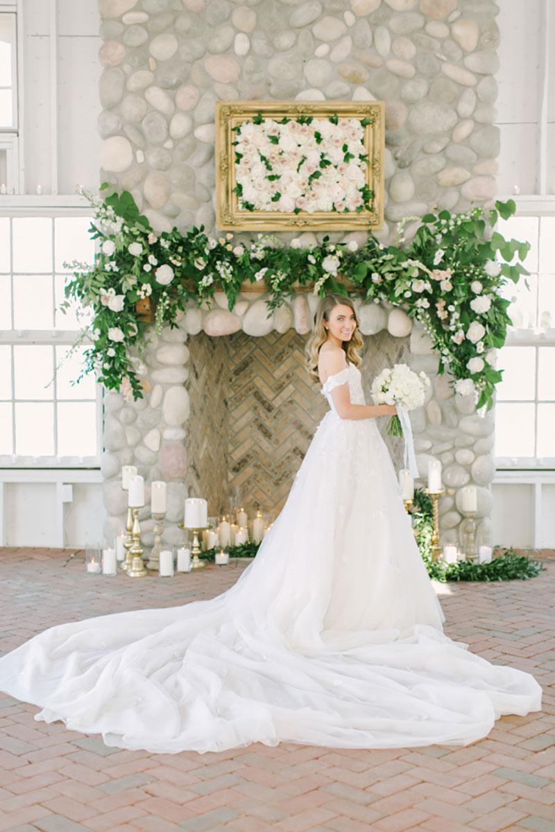 vestido de noiva tradicional para noivas altas