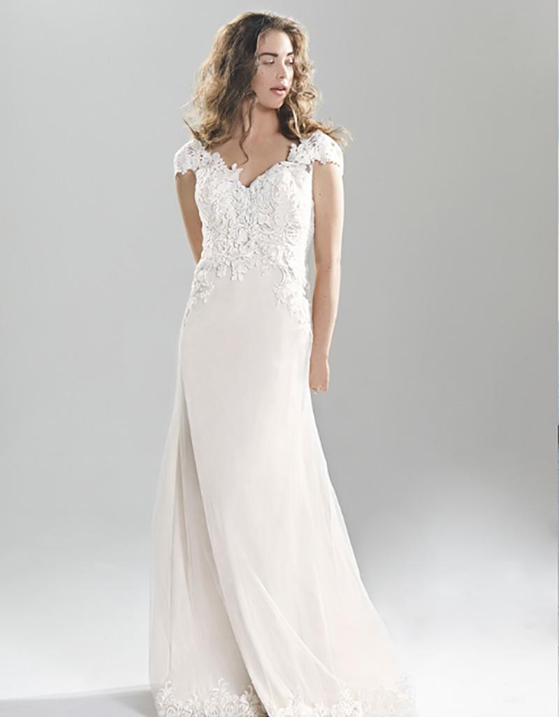 vestido de noiva com decote coração black tie