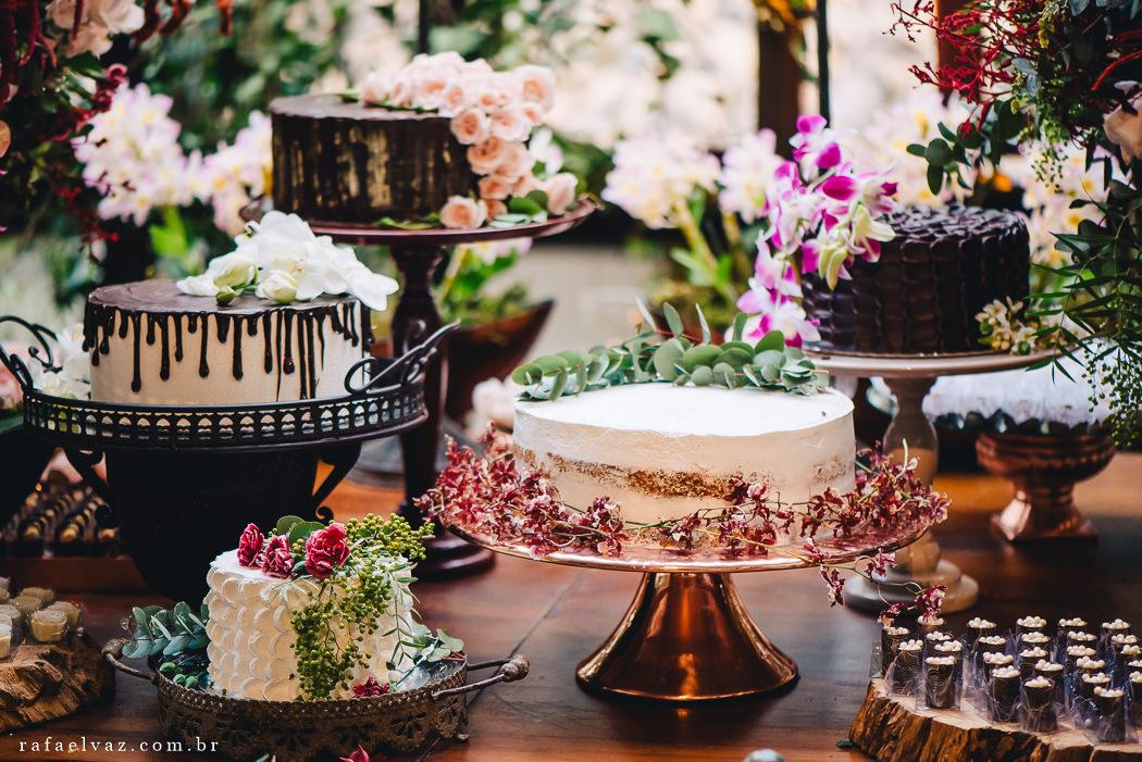 decoração de casamento rústico