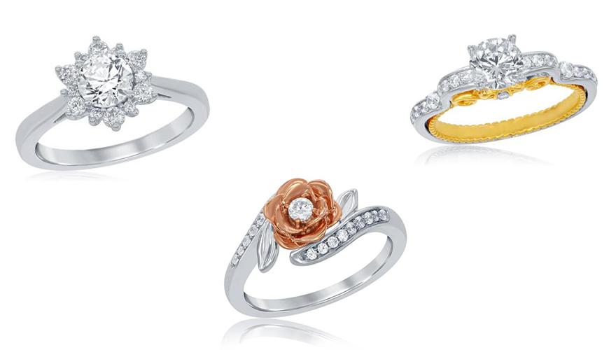 Conheça a nova coleção de anéis de noivado das princesas da Disney
