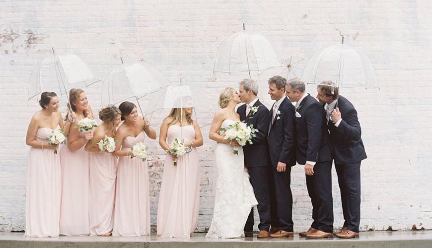 5 dicas fundamentais para saber o que fazer se chover no dia do casamento