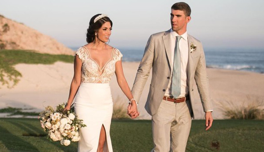 Casamento Michael Phelps e Nicole Johnson no México