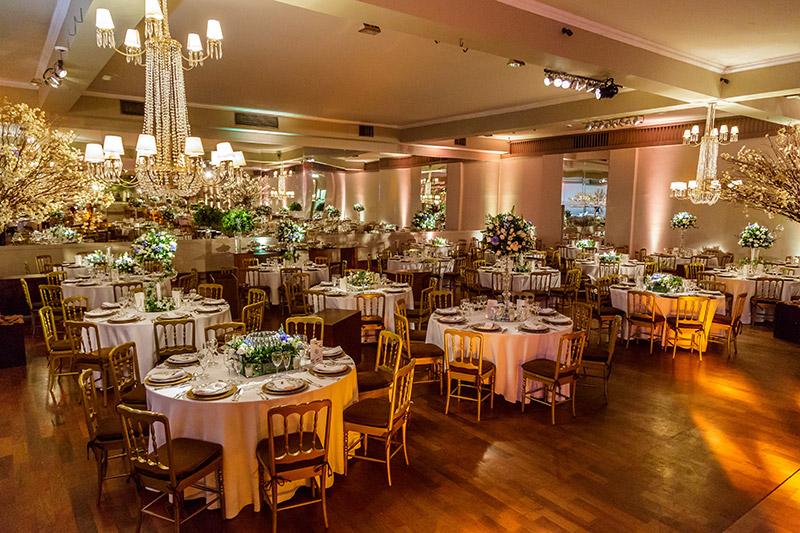 mesa de convidados casamento
