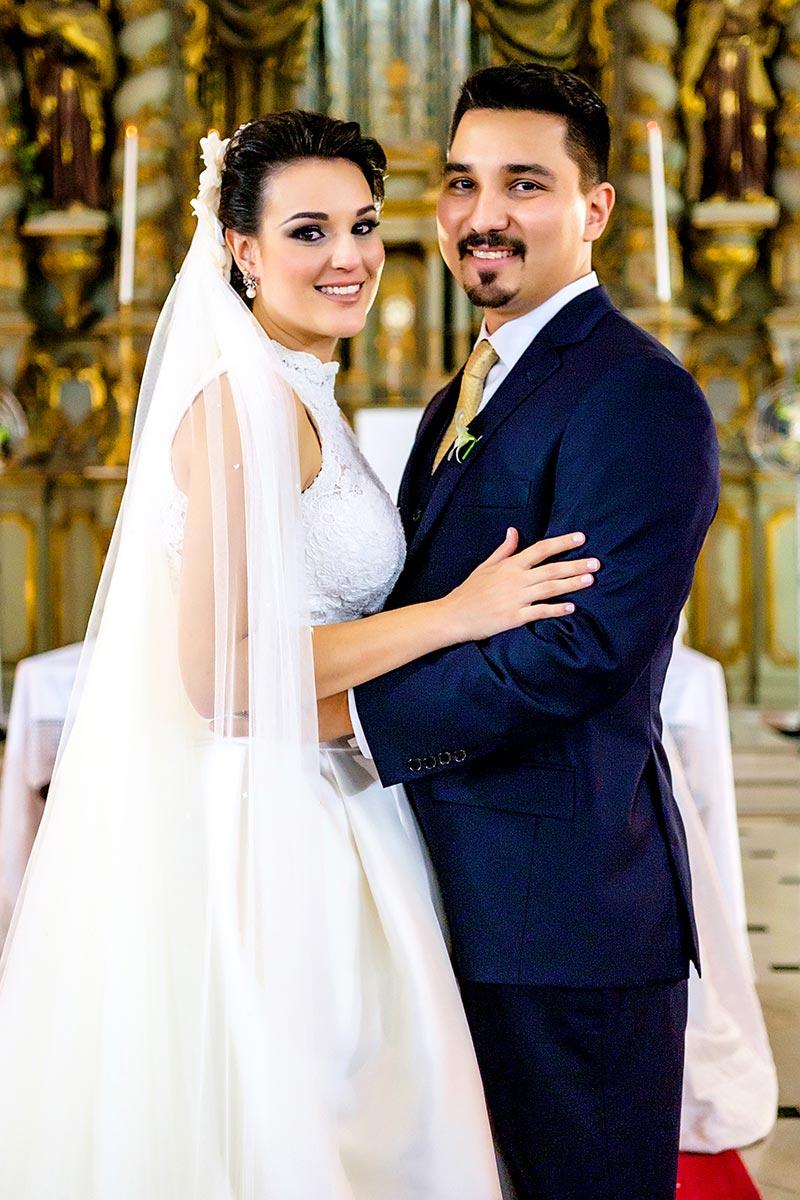 noiva e noivo casamento em SP