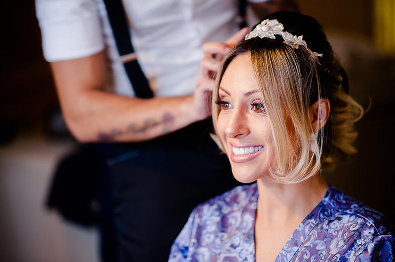 penteado da noiva casamento real