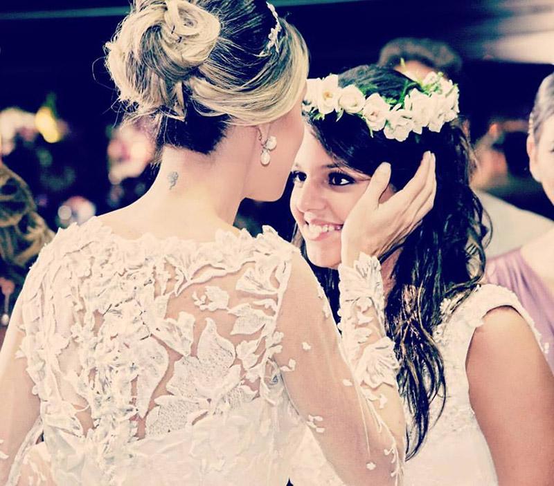 noiva e sua filha - daminha