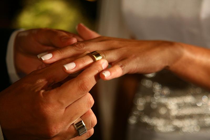troca de alianças no casamento ricardo hara