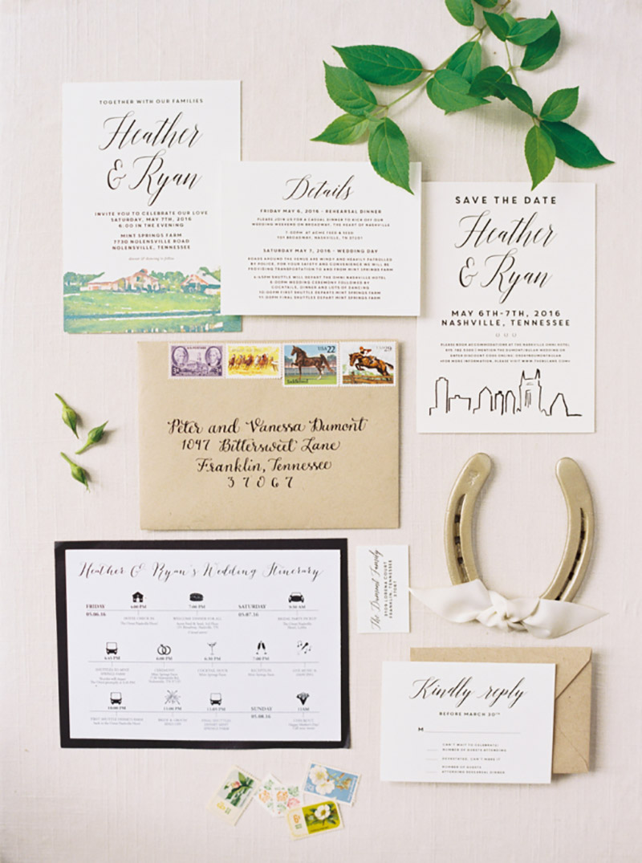 papelaria decoração de casamento rústico em preto e branco