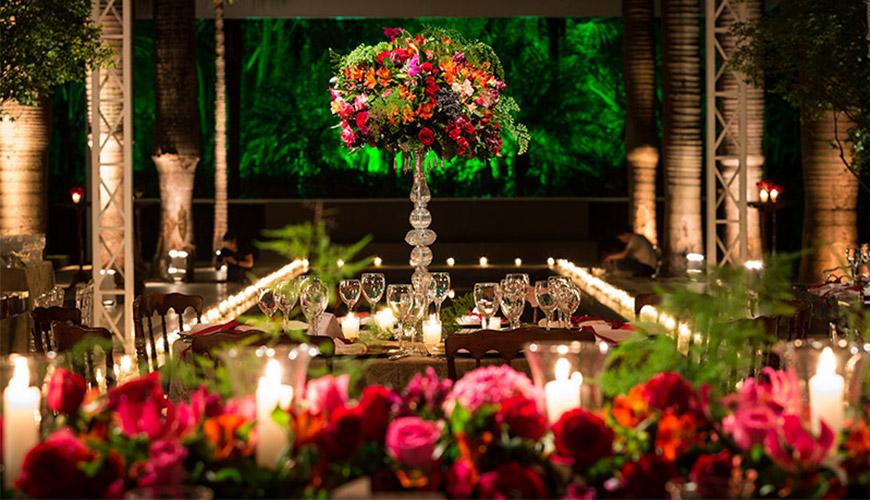 Inspire-se com uma linda Decoração de Casamento Vermelho e Verde