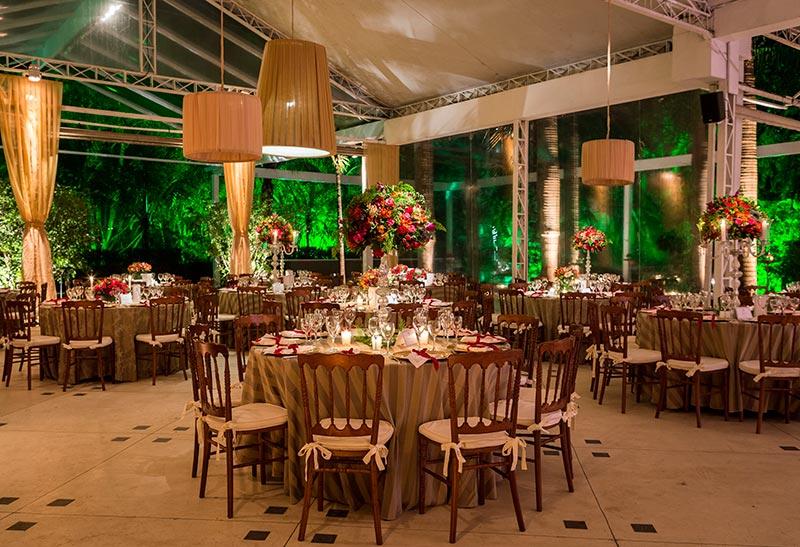 Decoração de casamento mesa de convidados Madame Fiori