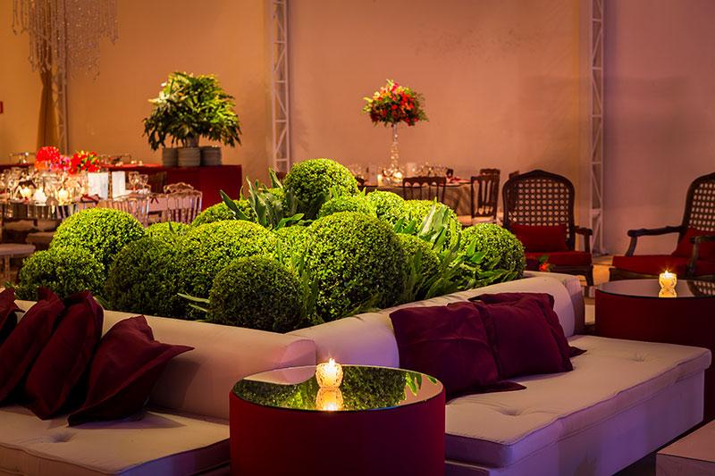 Lounge decoração de casamento Madame Fiori