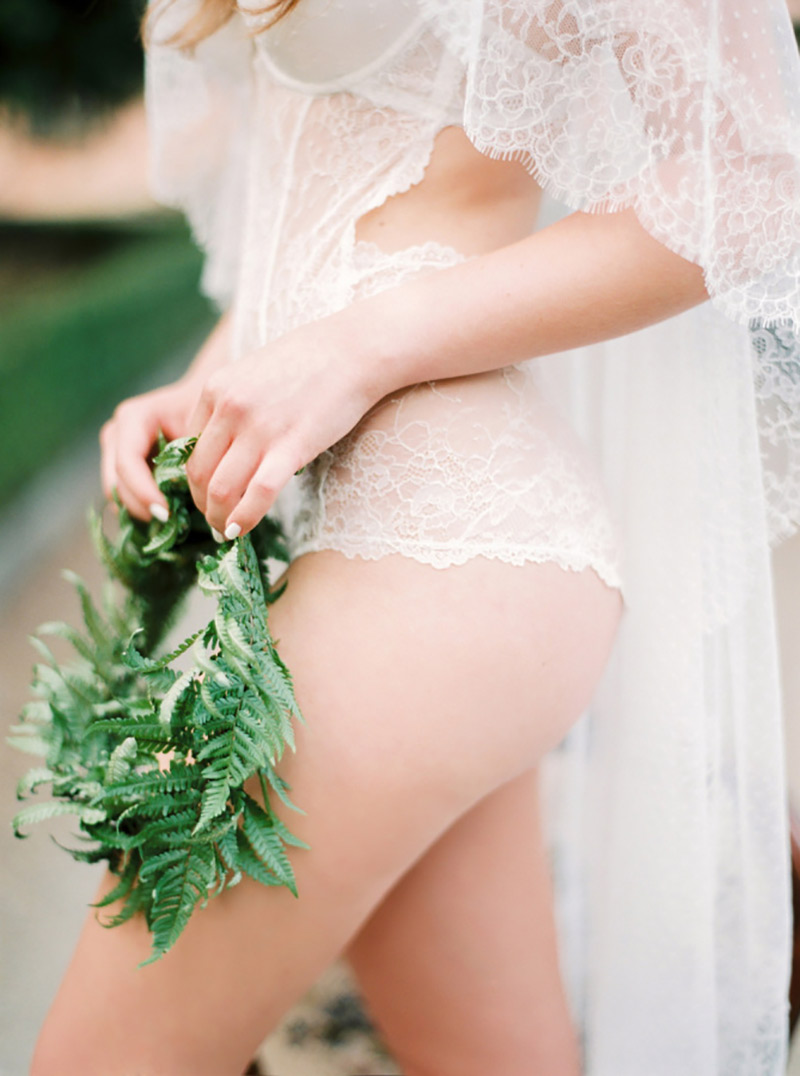lingerie para usar com vestido de noiva