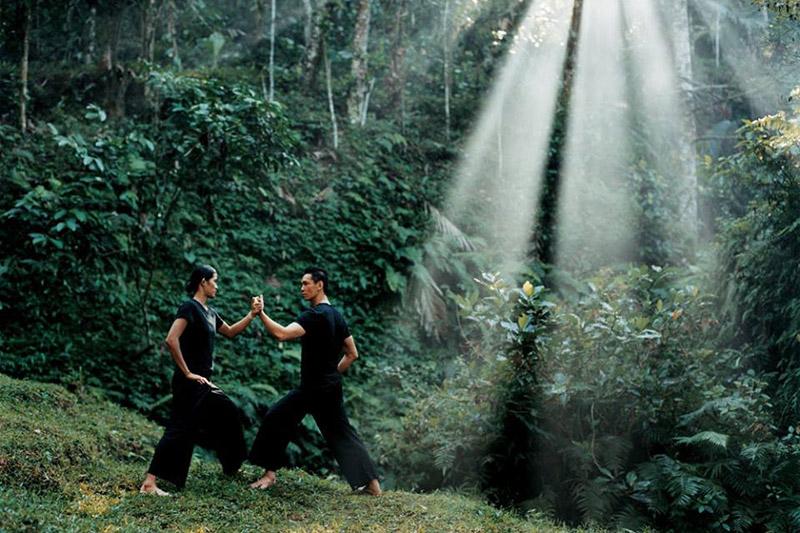 artes marciais em Bali, Indonésia TM Travel