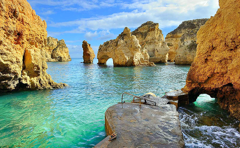 lua de mel em Algarve Portugal