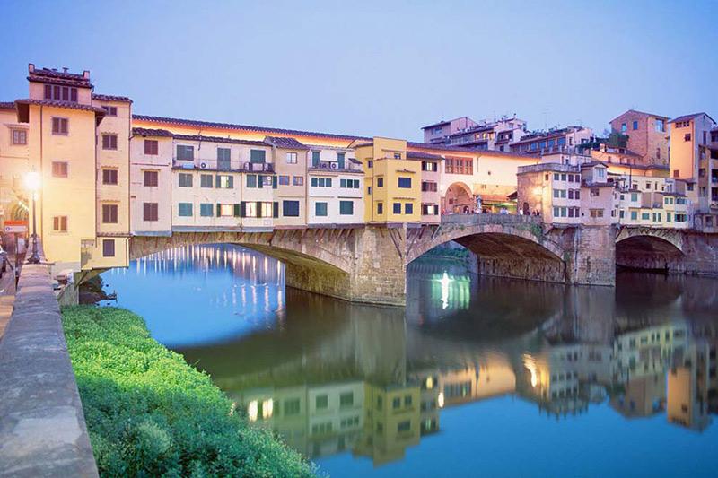 lua de mel na Europa Florença