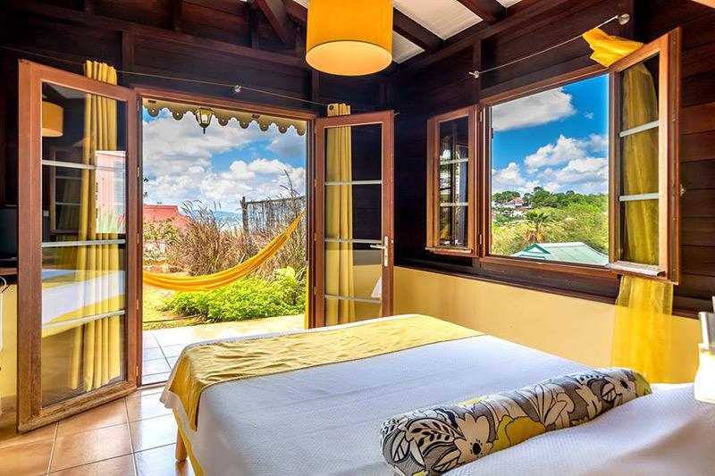 quarto do hotel La Suite Villa na Martinica TM Travel