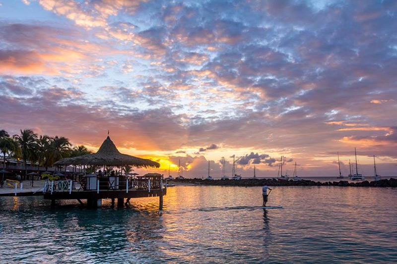 praia do hotel La Suite Villa na Martinica TM Travel