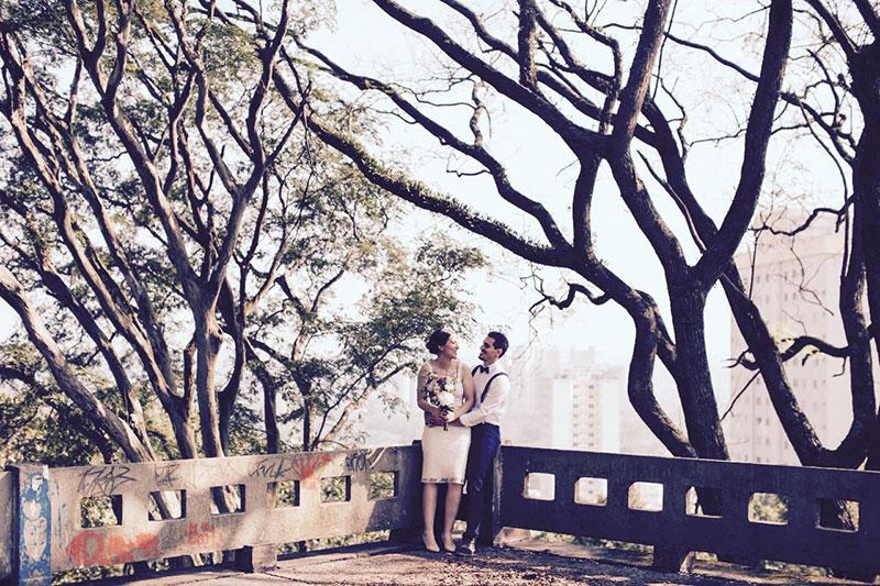 ensaio noivos mini wedding em São Paulo