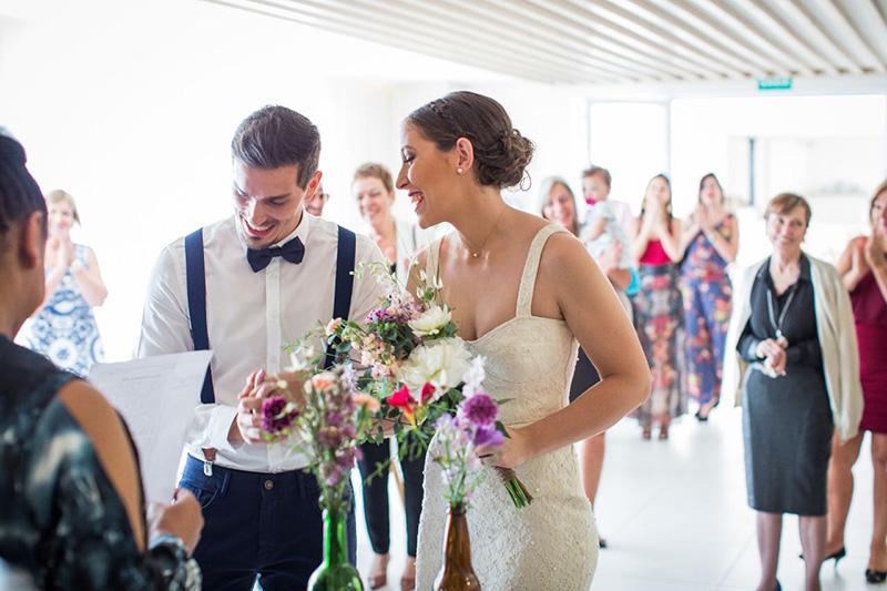 noivos mini wedding em São Paulo